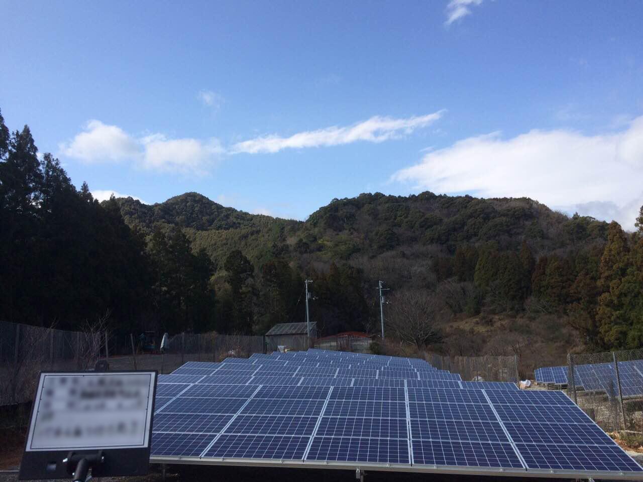 太陽光施工工事(宇和島南宇和)のサムネイル