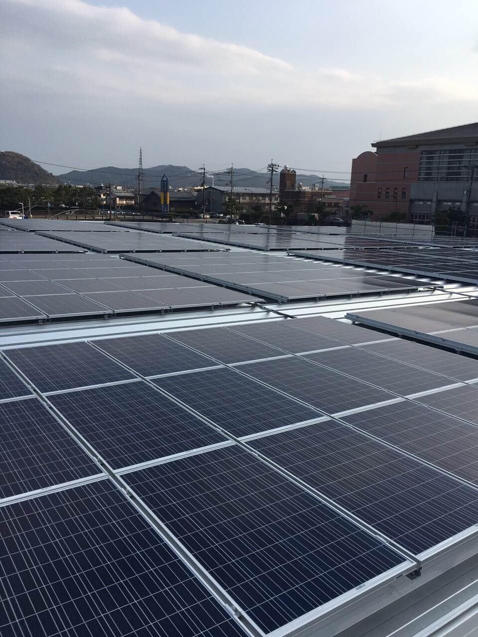 太陽光徳島県徳島市K店舗屋根のサムネイル